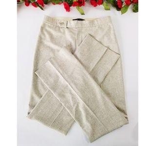 Ralph Lauren Black Label wool blend pants